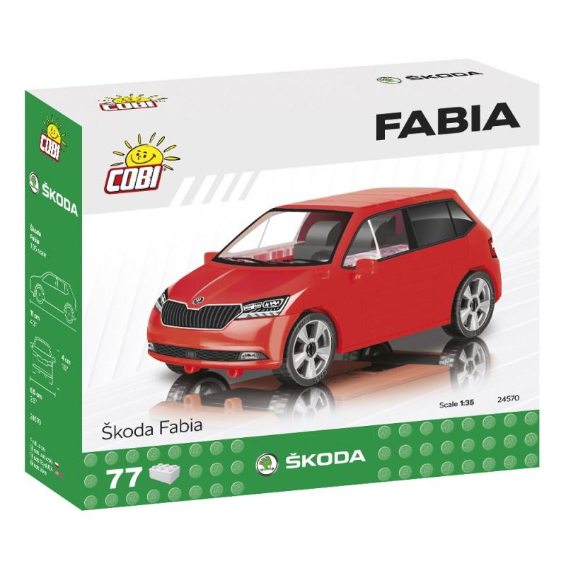 Stavebnice Škoda Fabia model 2019, 1:35, 75 k