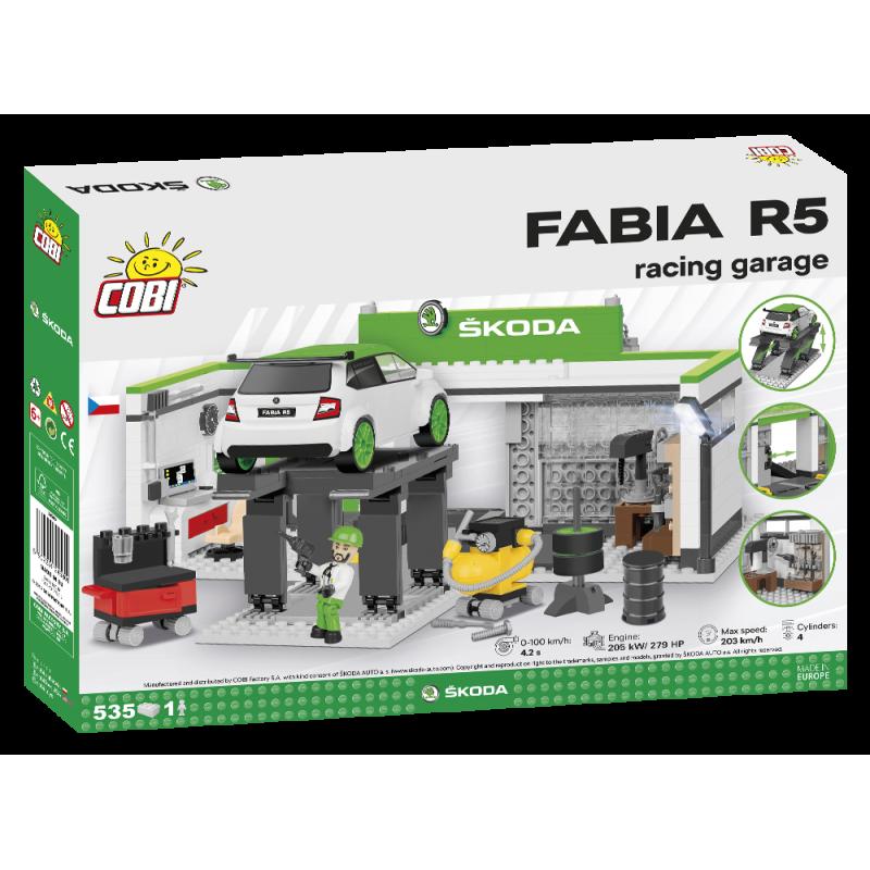 COBI 24580 Škoda Fabia R5 Závodní stáj
