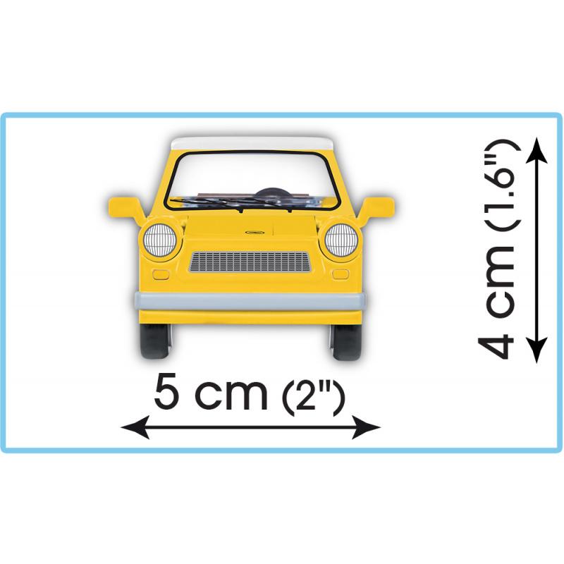 Cobi 24590 Youngtimer Trabant 601 s karavanem, 1 : 35, 218 k