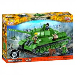 Small Army Czołg T34/85 Czterej Pancerni i pies