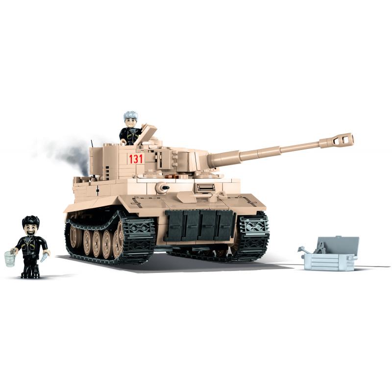 Cobi 2519 Small Army – Tiger 131 Sd.Kfz. 181 Panzerkampfwagen VI Ausf. E, 550 k, 2 f