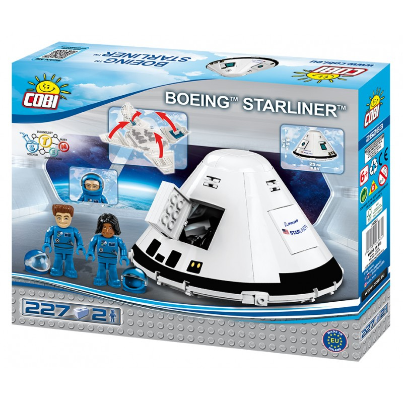 Cobi 26263 Boeing CST-100 Starliner, 227 k, 2 f