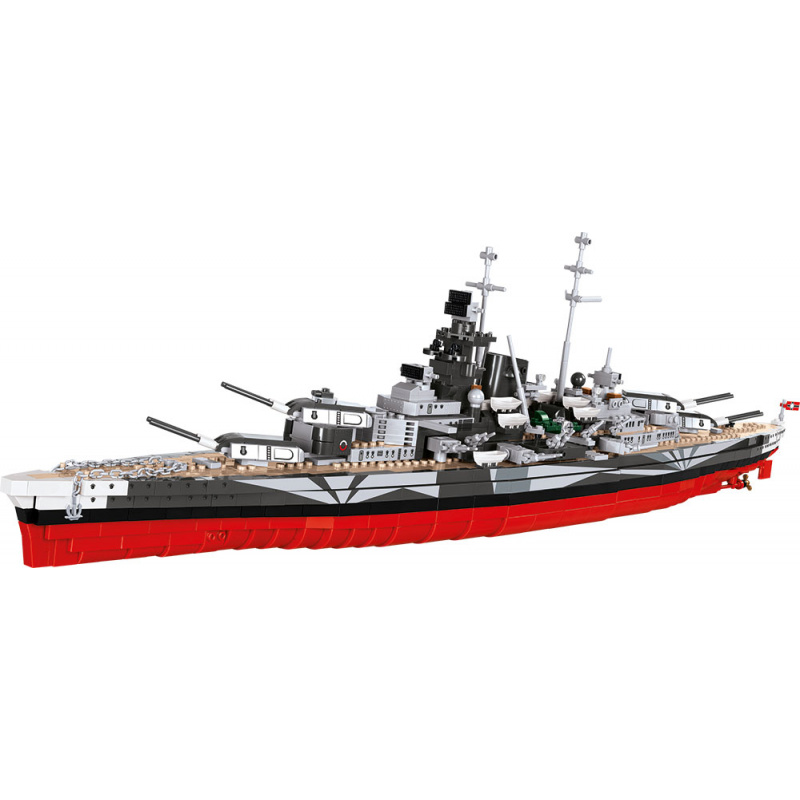 Cobi 3085 World of Warships – Bitevní loď Tirpitz, 1 : 300, 2000 k