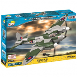 Klocki Cobi De Havilland Mosquito Mk.VI Brytyjski samolot myśliwsko-bombowy