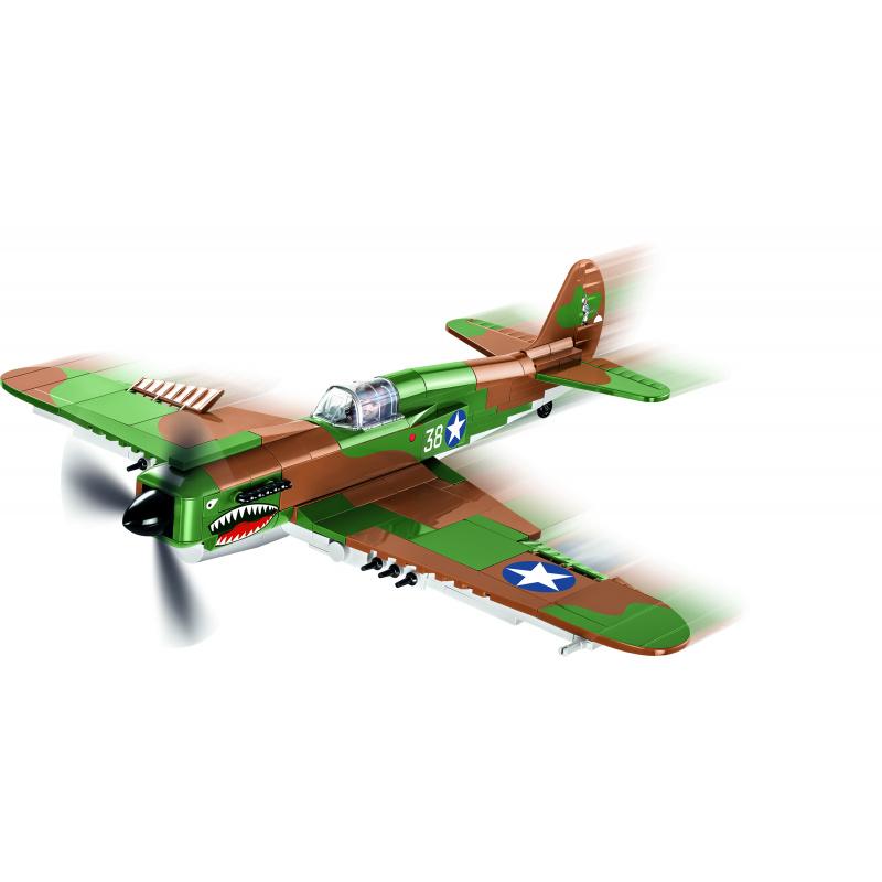 Cobi 5706 SMALL ARMY – II WW Curtiss P-40E Warhawk, 1 : 35, 272 k, 1 f