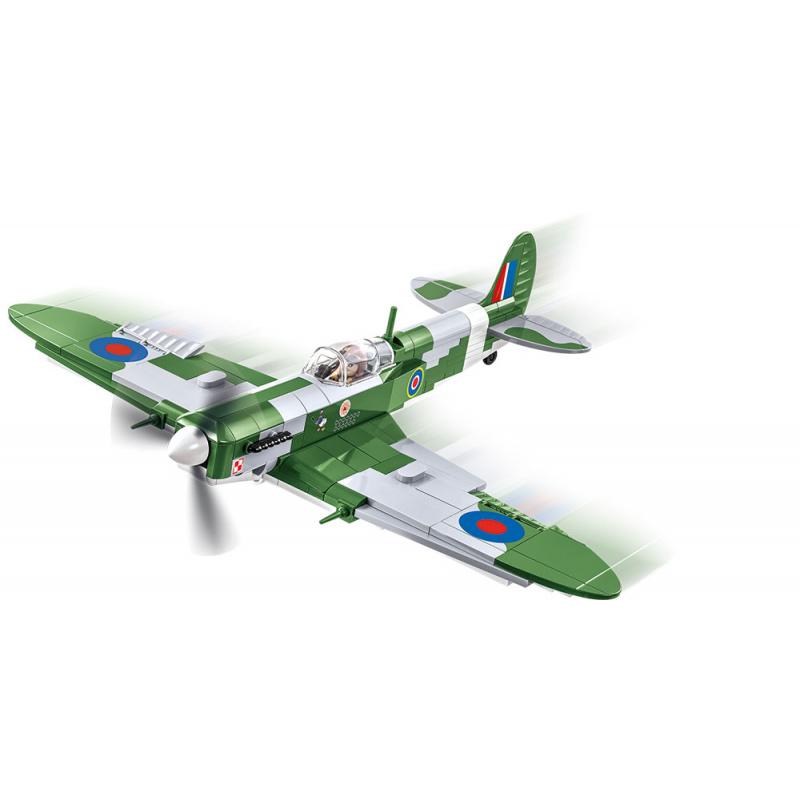 COBI 5708 II WW Supermarine Spitfire Mk VB, 280 k, 1 f