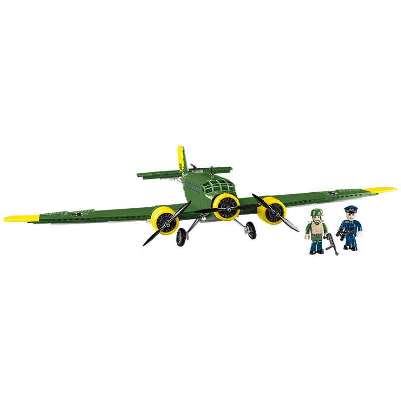 COBI 5710 World War II Německý dopravní letoun Junkers JU 52/3M