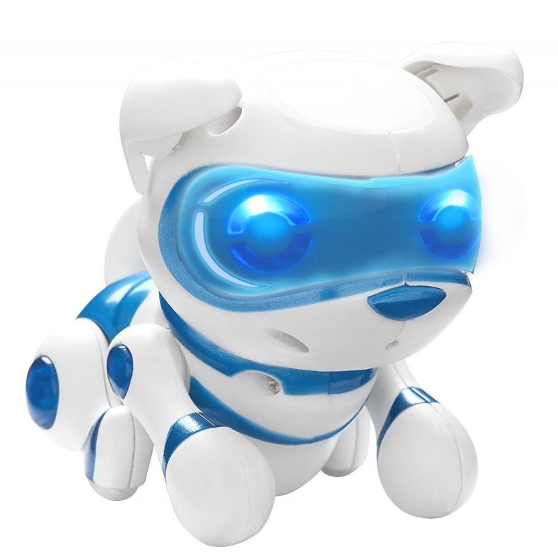 TEKSTA mládě Skákací štěňátko (modré)