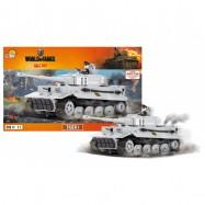 Stavebnice World of Tanks Tiger I 570 k, 1 f