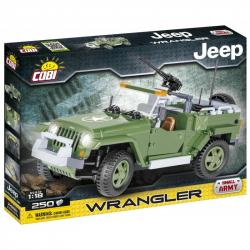 Cobi 24260 SMALL ARMY - JEEP Wrangler vojenský, 250 k