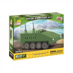 COBI 2242 Small Army NANO kolový obrněný transportér STRYKER M1126 ICV