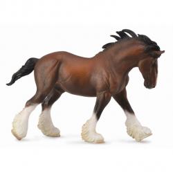 Clydesdalský kůň - hnědý