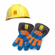Helma a rukavice Bořek stavitel