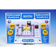 Stavebnice Boffin 300 elektronická 300 projektov na batérie