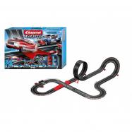 Autodráha Carrera GO!!! 62498 Supercharger 6,3m + 2 auta v krabici 58x40x12cm