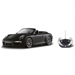 Auto RC Porsche 911 Carrera S Cabriolet plast 35cm na batérie v krabici 50x21x22,5cm