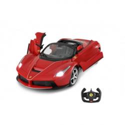 Auto RC Ferrari laferrari Aperta plast 34cm na batérie v krabici 44x18x25,5cm