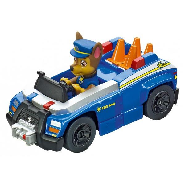 Autodráha Carrera First Paw Patrol / Tlapková Patrola 2,9m plast +2 autá na bat. v krabici 50x30x7cm
