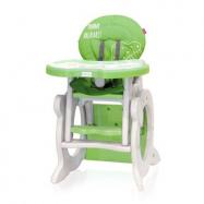 Jídelní židlička - stoleček Coto Baby Stars Q 2 v 1 - Green