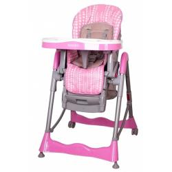 Jídelní židlička COTO BABY Mambo 2017 - Pink bubble