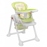 Jídelní židlička a houpačka 2v1 ZEFIR 2017 - zelená
