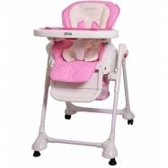 Jídelní židlička a houpačka 2v1 Zefir 2017 - růžova
