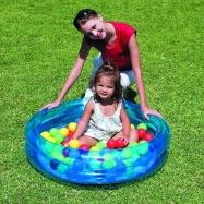 Nafukovací bazén, průměr 91 cm + 50 míčků