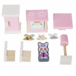 Cubik 13975 Kuchynka - drevený nábytok pre bábiky