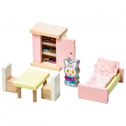 Cubik 12640 Izba - drevený nábytok pre bábiky