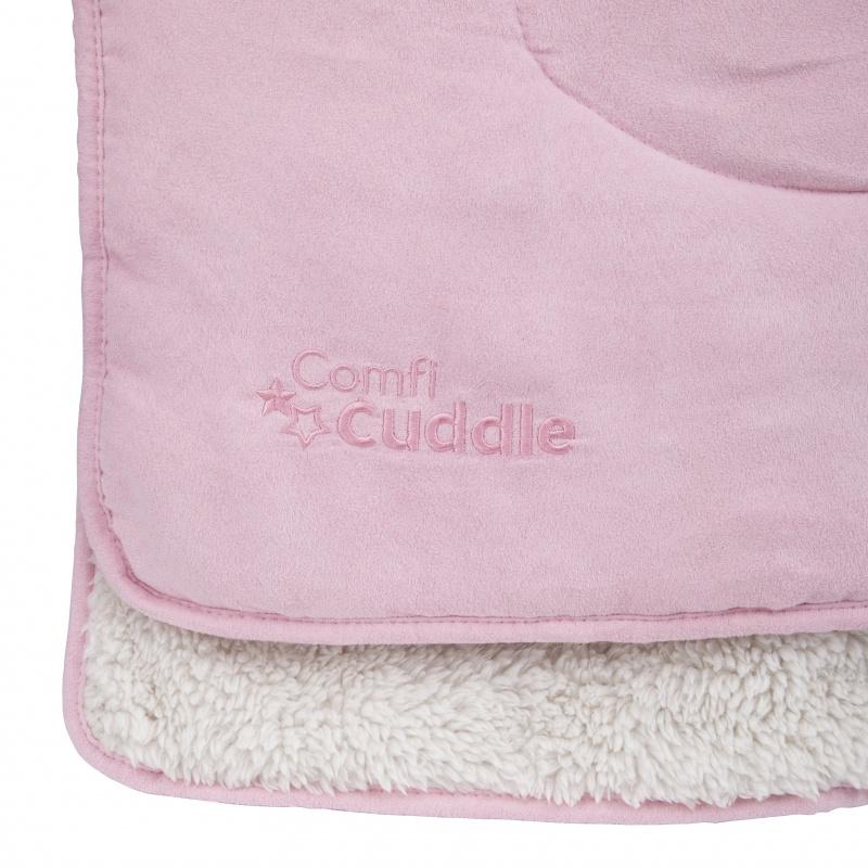 CUDDLECO Super měkká oboustranná dětská deka 110x75 cm, Blush
