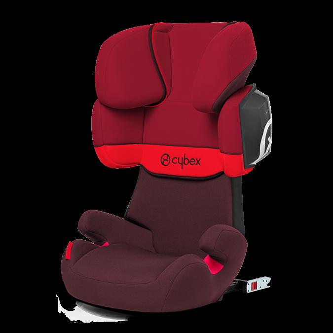 Cybex Solution X2-FIX Rumba Red 2017
