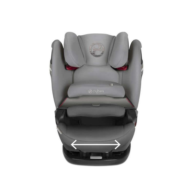 Cybex Pallas S-fix Pepper Black 2018