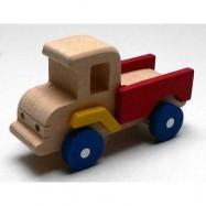 Dřevěné hračky - dřevěné auto - Nákladní autíčko