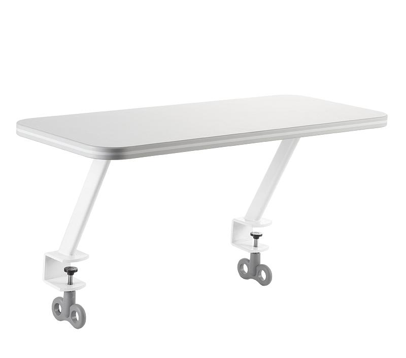 Odkládací polička pro stoly Žolík, Junior  bílá