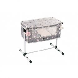 DeCuevas 51224 Novorodenecká postieľka pre bábiky s doplnkami SKY