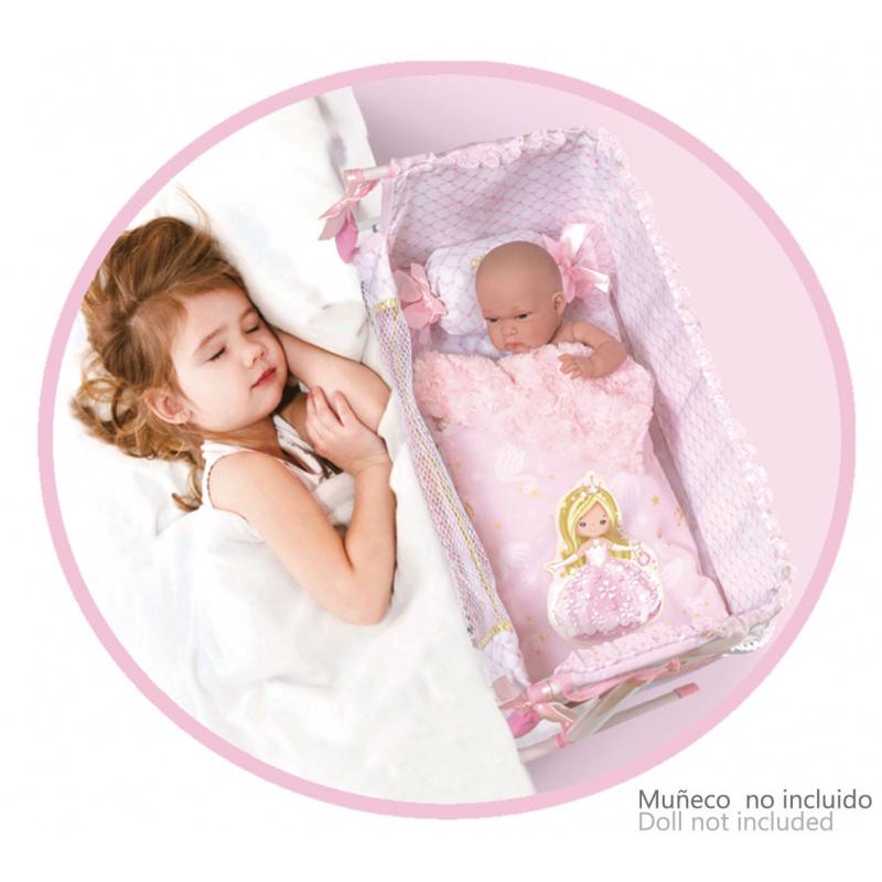 DeCuevas Toys postýlka pro panenky s doplňky Maria