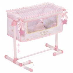 DeCuevas Toys postieľka pre bábiky s doplnkami Maria