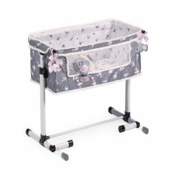 DeCuevas 51235 Novorodenecká postieľka pre bábiky s funkciou spoločného spania SKY 2020