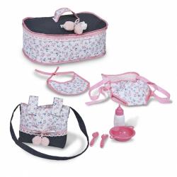 DeCuevas Cestovný set pre bábiky Clasic Romantic