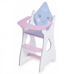 DeCuevas 55429 Drevená jedálenská stolička pre bábiky Martin 2019
