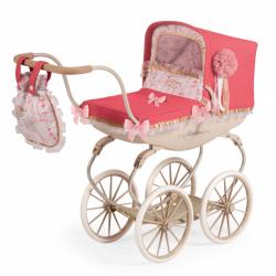 DeCuevas 87033 Kočík pre bábiky hlboký Martina 2020 - 68 cm