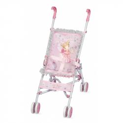 DeCuevas 90034 Skladací kočík pre bábiky - golfové palice Magic Maria 2020 - 56 cm