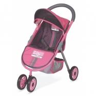 DeCuevas Trójkołowy wózek dla lalek City Max