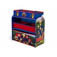 Box na hračky - Organizér Požárník Sam
