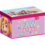 Box na hračky - látková truhla Tlapková patrola Pink tb83370pw
