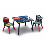 Dětský stůl s židlemi Cars TT89581CR