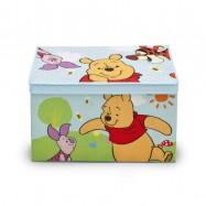 Box na hračky - látková truhla Medvídek Pú