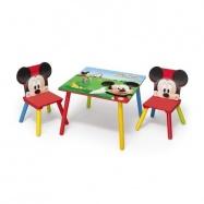 Dětský stůl s židlemi Myšák Mickey II - TT89424MM