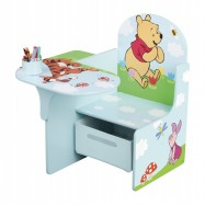 Židle se stolečkem Medvídek Pú TC83928WP