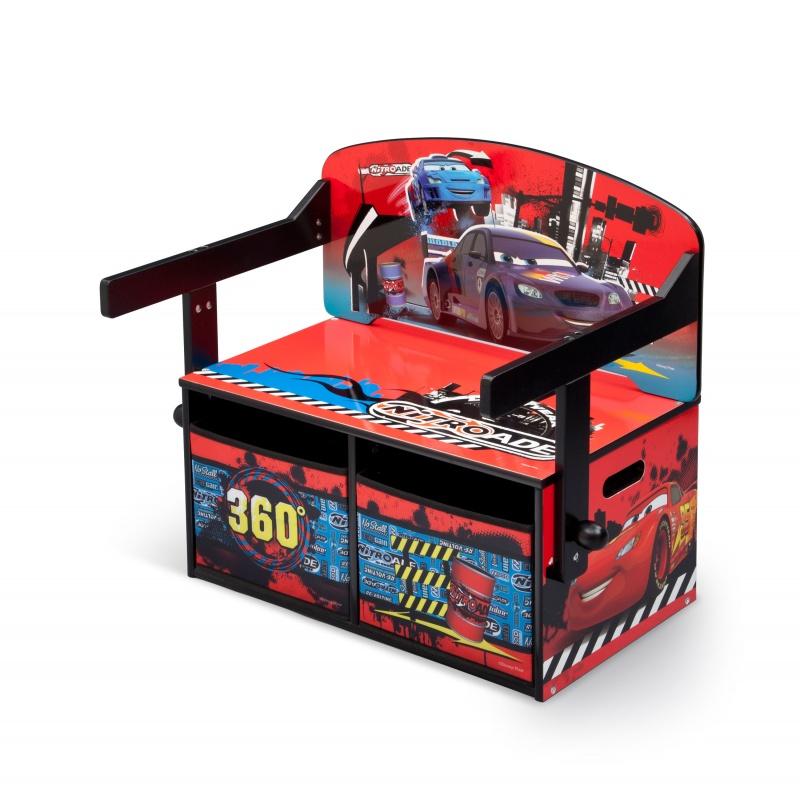 Dětská lavice s úložným prostorem Cars TB84522CR